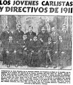 1911DirectivaJuventudJaimistaPamplona